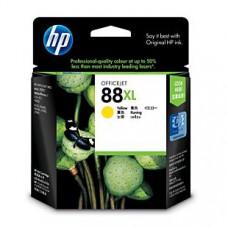 HP 88XL 原廠黃色高容量墨水匣(C9393A) for HP K550/K5400/K8600/L7580/L7590